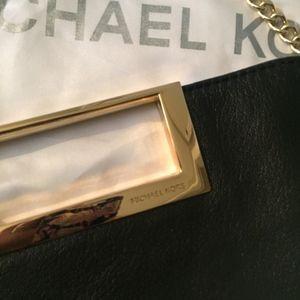 Michael Kors Bags - Michael Kors Gold Chain Clutch NWOT'S